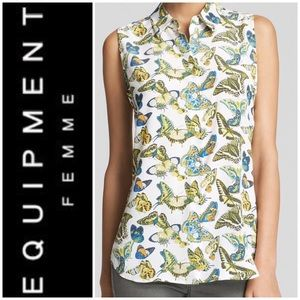 Equipment Femme Colleen butterfly top 🦋